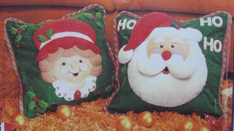 Cojines Navidad Manualidades.Manualidades Navidenas Anafer Moldes Imagui